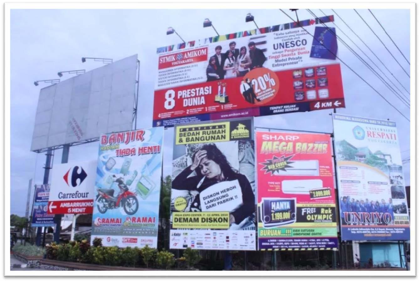 Cara Menentukan Titik Reklame Yang Efektif Untuk Beriklan